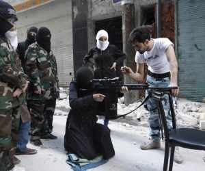 "ISIS READYING TO ACTIVATE AN ""ALL FEMALE"" SUICIDE BRIGADE?"