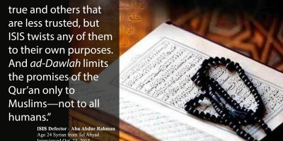 The Promises Of The Qur'an Only To Muslims