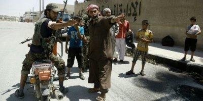 Manbij Syria Isis Getty
