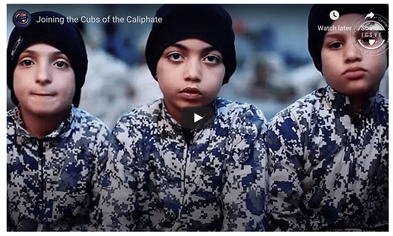 Boys Without Fathers And The Islamic State