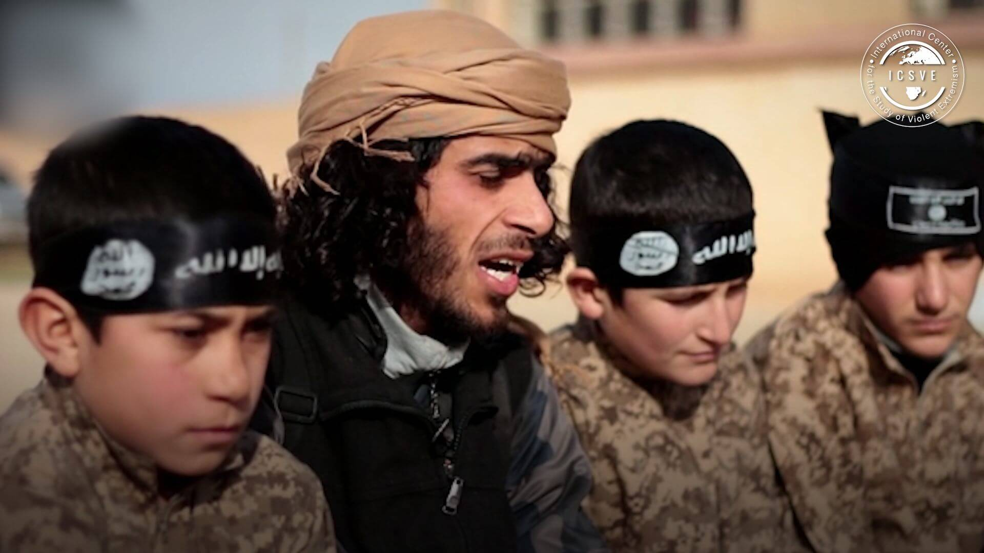 The Abu  Musab Al Zarqawi Cubs Of The Caliphate Camp