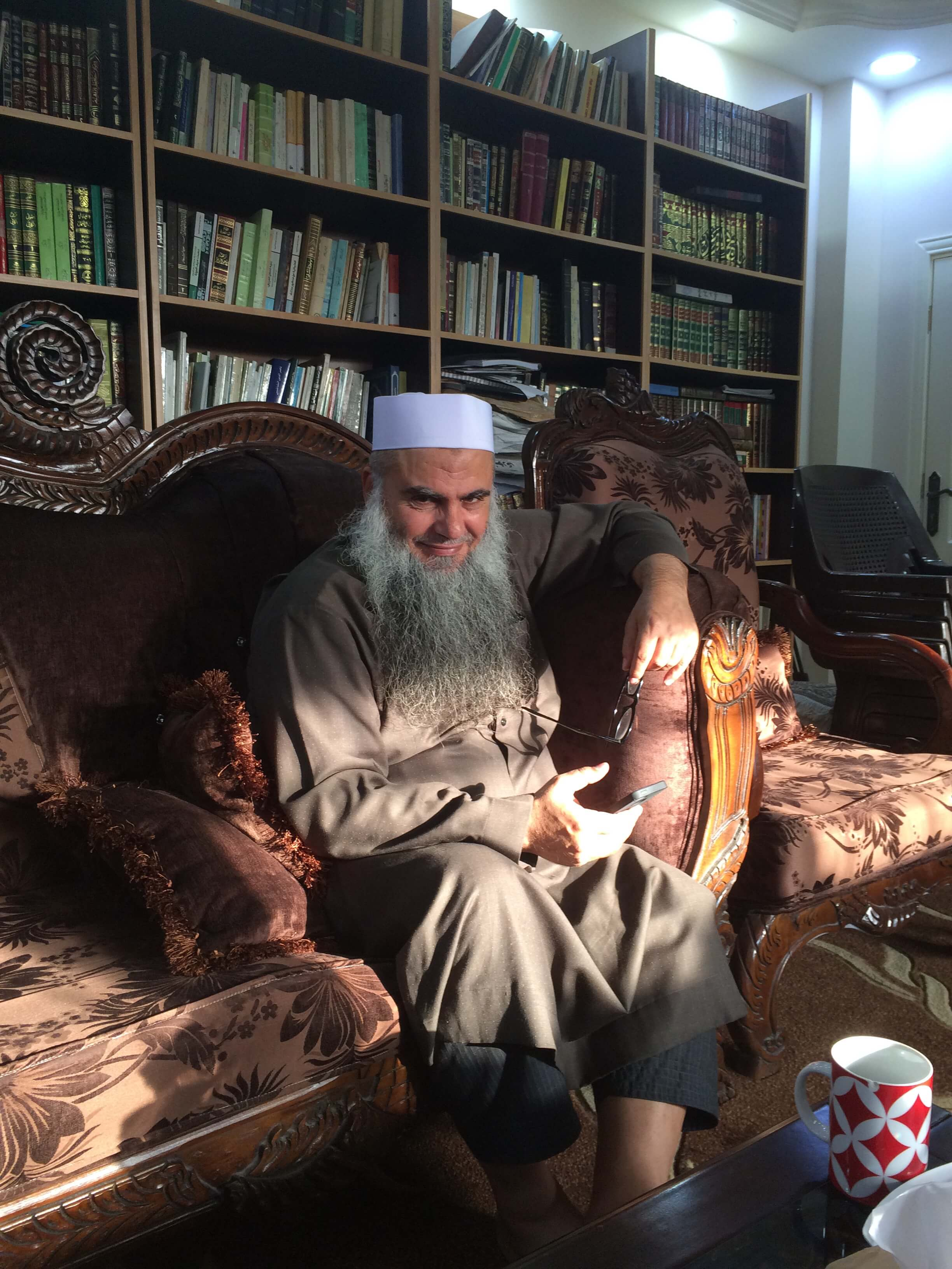 "Abu Qatada: The ""Spiritual Father"" Of Al Qaeda In Europe Reflecting On Terrorism And The Future Of The Middle East As Trump Takes The U.S. Presidency"