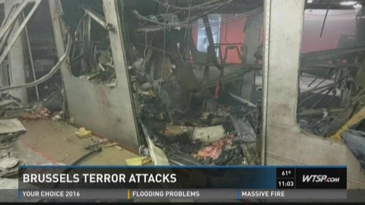 Close Call For USF Leaders, Terrorism Expert In Brussels