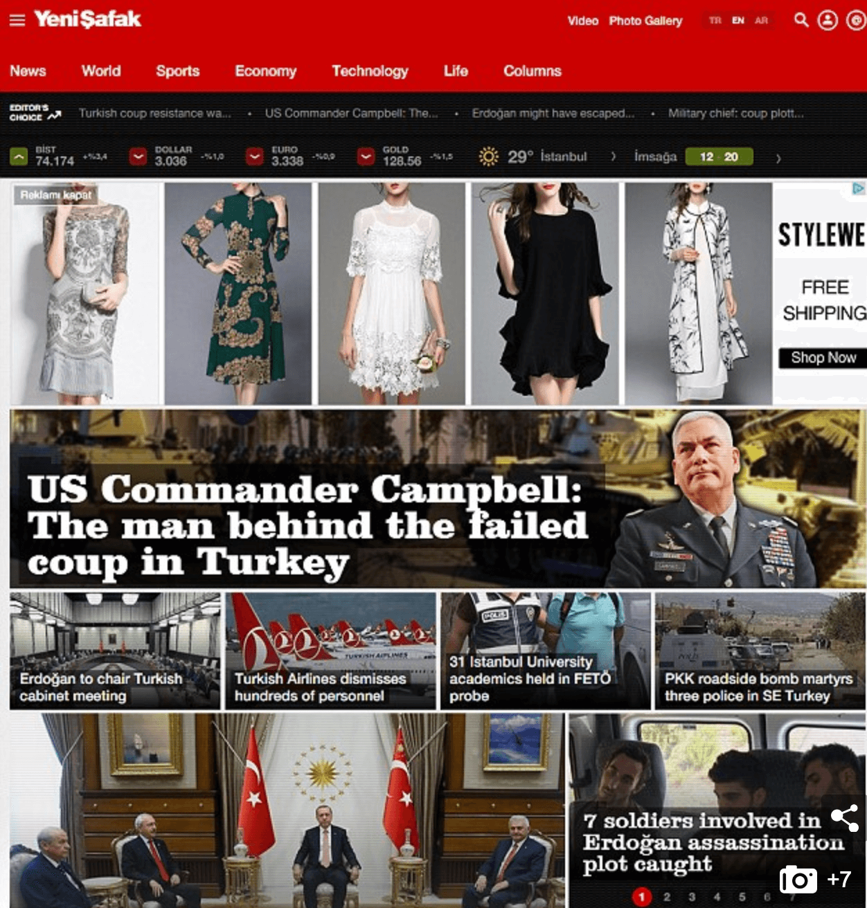 Turkish Tabloid Accuses US Army General Of Orchestrating The Failed Coup – A Move Which Could Put Americans In The Country At Risk
