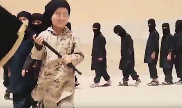 Terror Tots: Horror As Experts Reveal Up To HALF-A-MILLION Children Recruited By ISIS