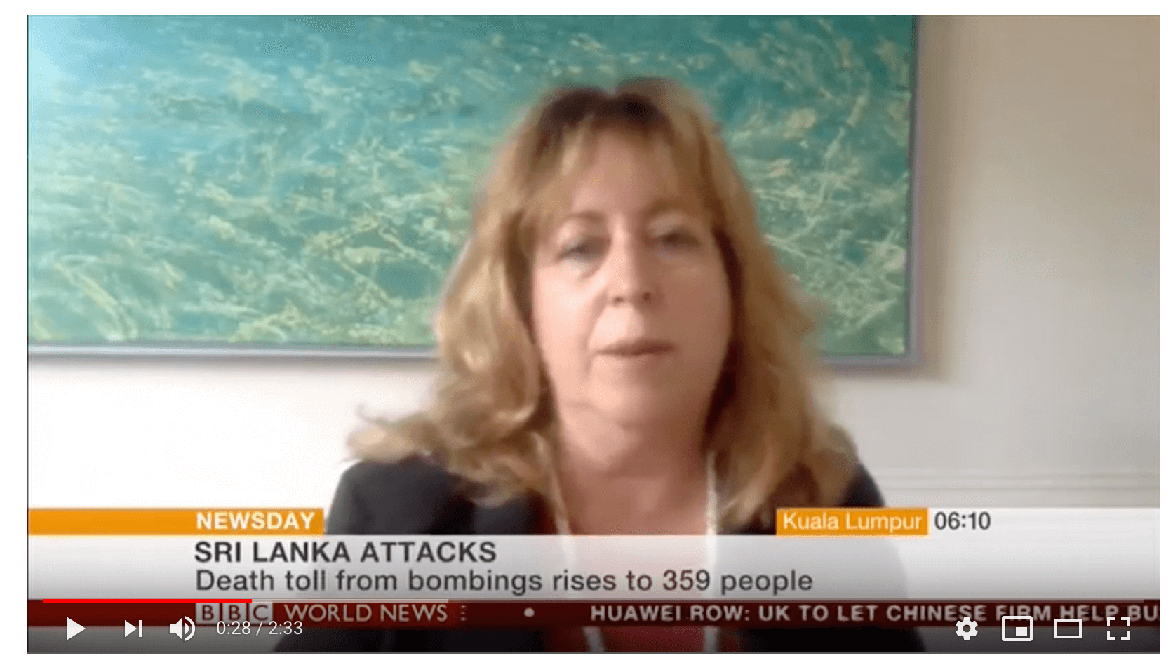ICSVE's Anne Speckhard On BBC World News