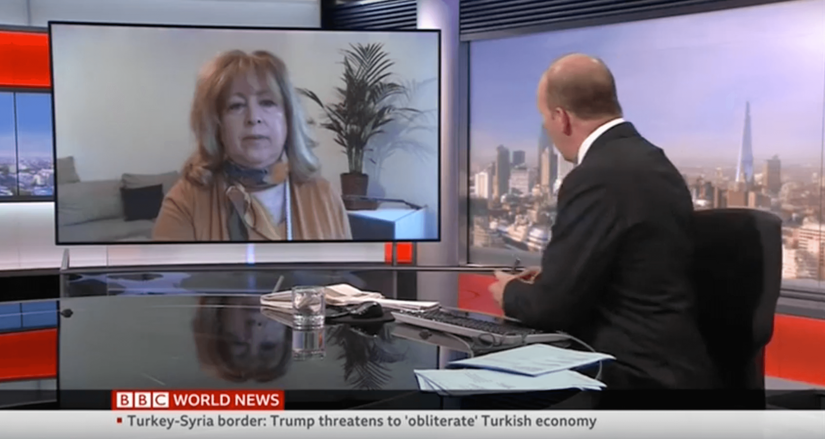ICSVE's Dr. Anne Speckhard On BBC: US Allows Turkish Incursion Into SDF Territory