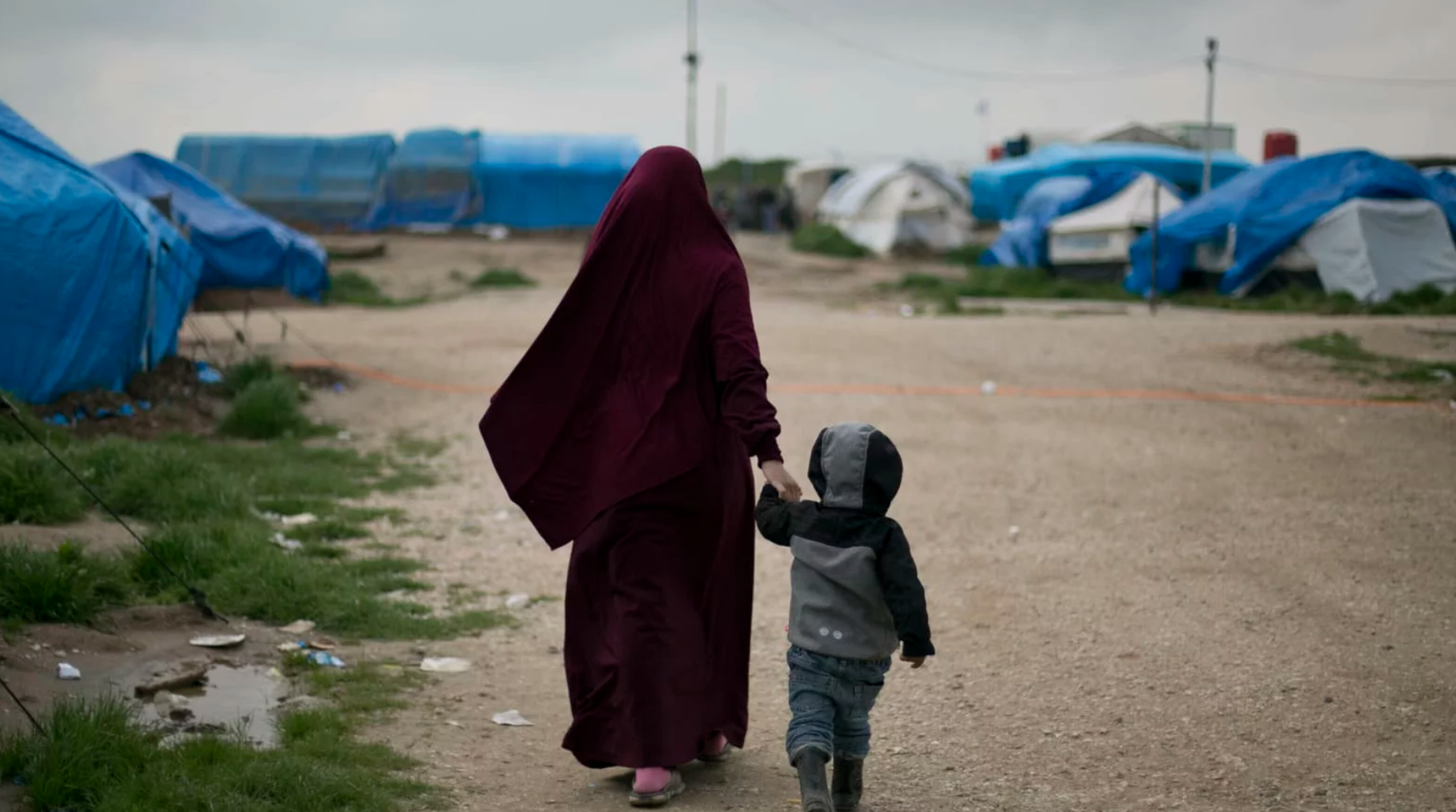 Imprisoned ISIS Wives And Children Have Nowhere To Run To, Nowhere To Hide