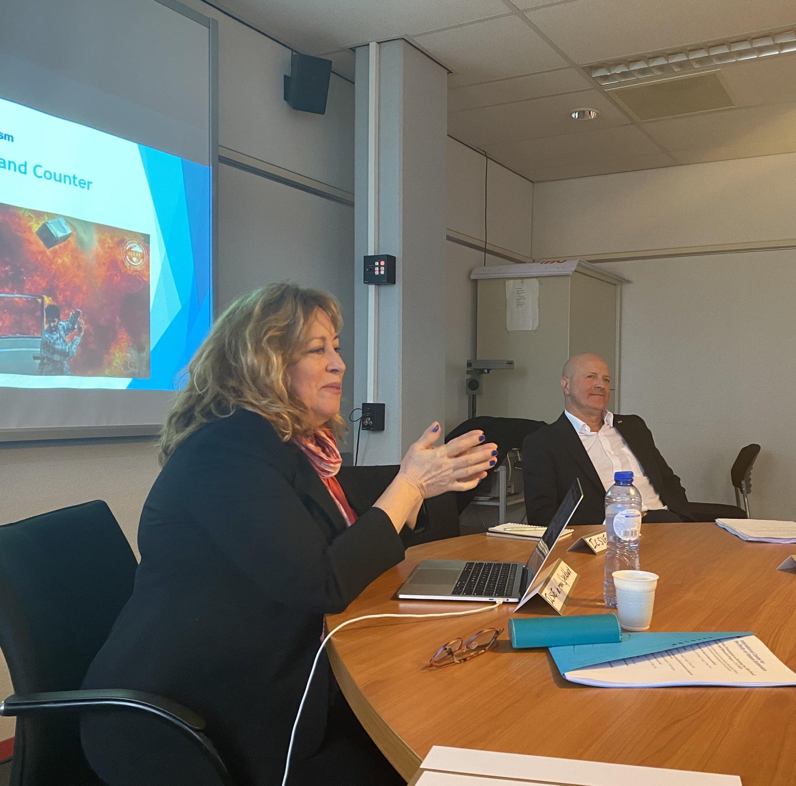 ICSVE – Europe – Dutch Federal Police Training Event